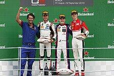 GP3, Monza: David Beckmann holt im Regen zweiten Saisonsieg