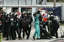 Formel 1 Monza: Darum keine Strafe für Mercedes' Fake-Stopp