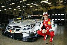 Als Formel-1-Rookie Mick Schumacher einen DTM-Mercedes fuhr