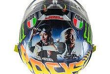 Valentino Rossis neues Helmdesign: Zurück in die Zukunft!
