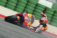 MotoGP-Statistik: Marc Marquez ist Crash-König 2018