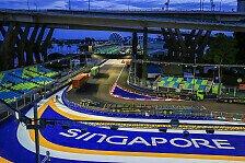 Formel-1-Wetter Singapur: Rettet die Nacht vor Regen-Chaos?