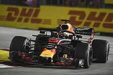 Formel 1 Singapur, Red Bulls Hypersoft-Krampf: Pole nicht drin