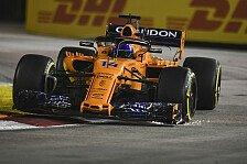 Formel 1 Singapur, Alonso dominiert und schwärmt: Kleiner Sieg