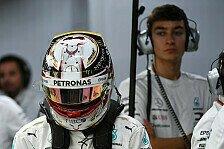 Streit mit Lewis Hamilton? Russell dementiert Formel-1-Gerücht