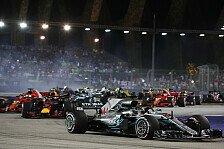 Formel 1 2018: Singapur GP - Rennen