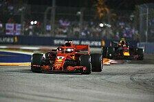 Formel 1 Singapur - Ferrari rüstet gegen Rückfall: Neue Teile