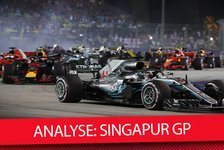 Formel 1 - Video: Formel 1 2018: Singapur Grand Prix Analyse