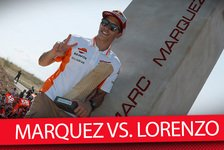 MotoGP - Video: Aragon 2018: Marquez vs. Lorenzo