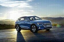 Weltpremiere Audi e-tron: Erstes Elektromodell in Serie