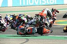 MotoGP Aragon: Jorge Lorenzos Highsider in Aragon