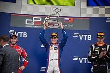 GP3 Sochi: David Beckmann beißt sich zum 3. Sieg: Einfach geil!