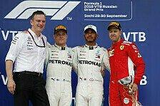 Formel 1 2018: Russland GP - Podium