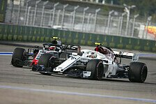 Formel 1 Sotschi: Leclerc zaubert Sauber an Mittelfeld-Spitze
