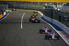 Formel 1, Force India scheitert mit Stallregie: Frustrierend