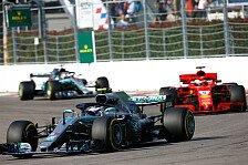 Formel 1 Mexiko: Vettel & Hamilton wählen exakt gleiche Reifen
