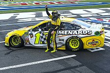 NASCAR: Fotos Rennen 29 - Playoffs, Round of 16, Charlotte