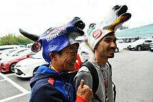 Formel 1 Japan 2018: Die verrücktesten Fans in Suzuka