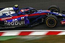Formel 1, Toro Rosso feiert Honda: Motoren-Versprechen gehalten