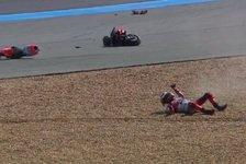 Jorge Lorenzo: Schlimmer MotoGP-Crash in Thailand