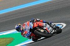 MotoGP Thailand 2018: Dovizioso führt 4. Training an