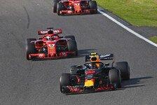 Formel 1 Japan 2018, Sebastian Vettel crasht mit Max Verstappen