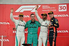 Formel 1 2018: Japan GP - Podium