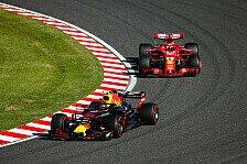 Formel 1 2019: Pirelli-Reifen in Belgien und Japan maximal hart