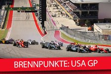 Formel 1 - Video: Formel 1 2018: Brennpunkte vor dem USA GP