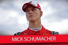 Mick Schumacher im großen Formel-1-Verhör in Abu Dhabi