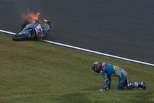 Alex Marquez: Schlimmer Crash in Motegi