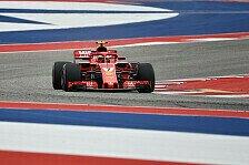 Formel 1 USA, Räikkönen mit Joker von P2: Nichts zu verlieren!