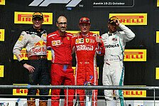 Formel 1 - Bilder: USA GP - Podium