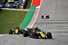 Gelbes Formel-1-Wunder in Austin: Renault nennt drei Gründe