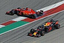 Formel 1 USA 2018, Vettel: Ricciardo-Dreher nicht meine Schuld
