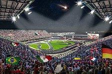 Race of Champions 2019 in Mexiko: Stadion der Formel-1-Strecke