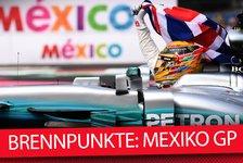 Formel 1, Mexiko 2018: Die heißesten Fragen vor dem Rennen