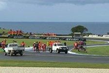 MotoGP Phillip Island 2018: Ölspur verzögert Trainings