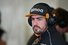 Formel 1 - Fernando Alonso: Kiefer-Fraktur nach Unfall