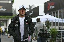 Formel-1-Pilot Valtteri Bottas startet im Ford Fiesta RS WRC