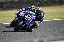 Valentino Rossi warnt: Vinales-Sieg ändert nicht viel