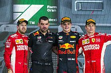 Formel 1 - Bilder: Mexiko GP - Podium