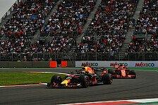 Formel 1: Pirelli nominiert mittelharte Reifen für Mexiko GP