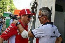 Formel 1: Sauber will mit Kimi Räikkönen 2019 Mittelfeld-Spitze