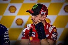 MotoGP - Jorge Lorenzo überzeugt: Ich werde am Sonntag fahren