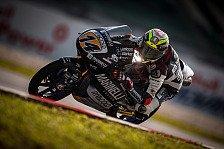 Moto3 Valencia 2018: Arbolino bei feuchtem Qualifying auf Pole