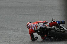 Andrea Dovizioso: Sturz kostet mögliche MotoGP-Pole in Sepang