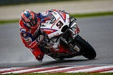 MotoGP Valencia 2018: Rote Flagge auch in FP2, Petrucci voran