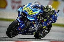 MotoGP - Andrea Iannone stürzt wegen Marquez-Fehler in Sepang