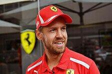 Formel 1, Sebastian Vettel nach WM-KO: Aufgeben keine Option